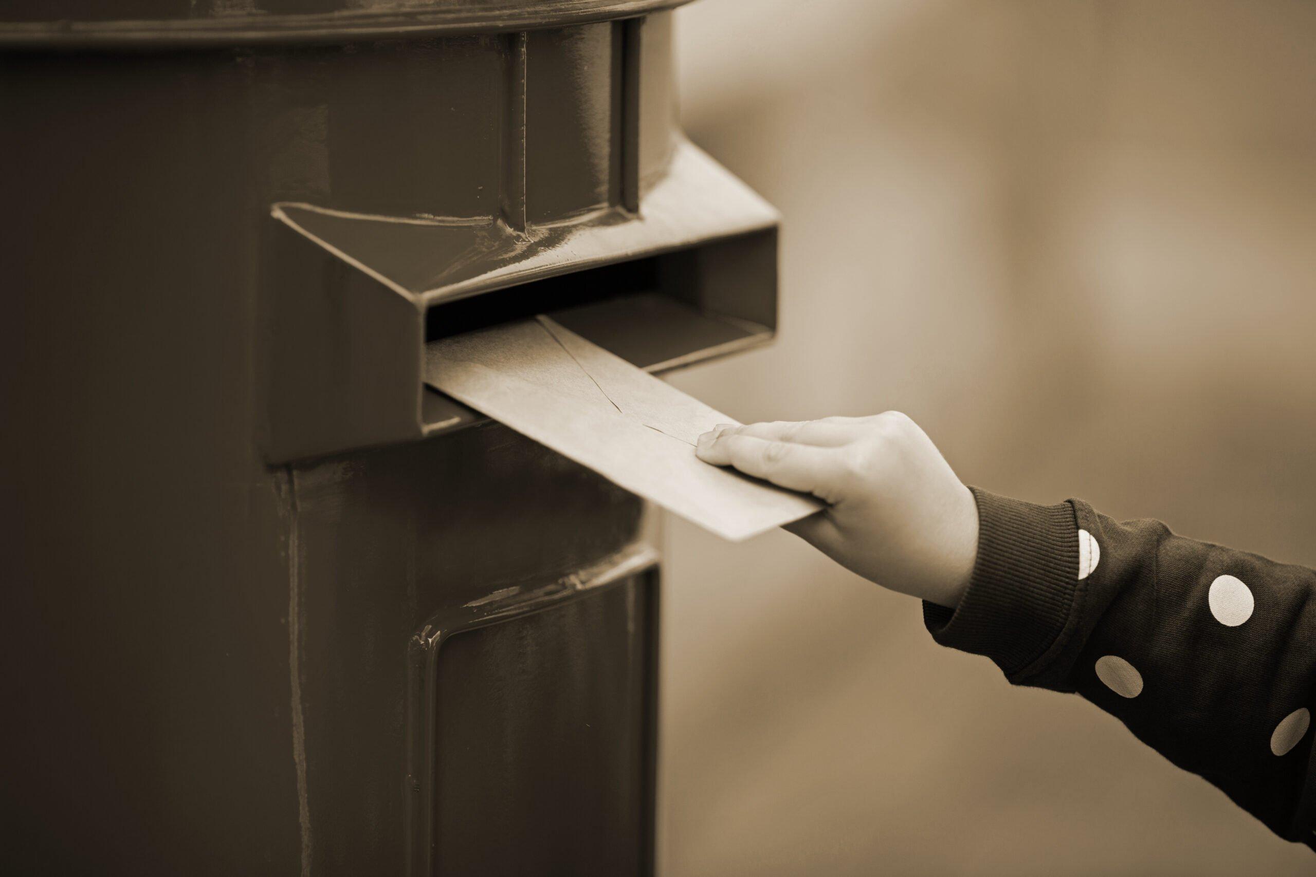 Postal voting – Keir Bloomer